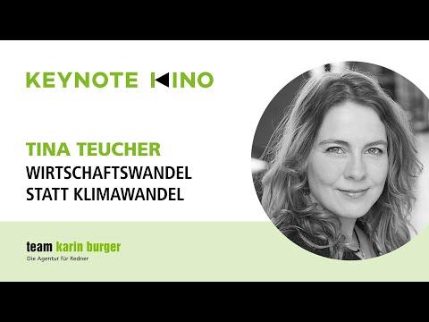 Tina Teucher, Wirtschaftswandel Statt Klimawandel
