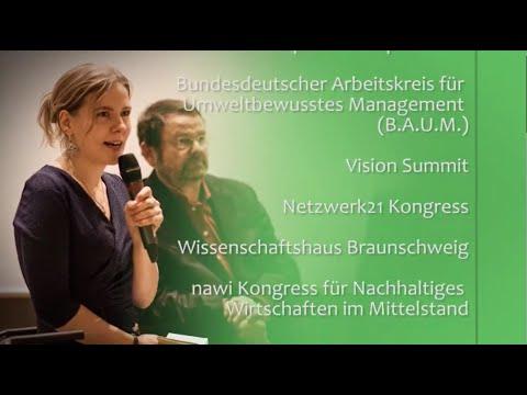 Tina Teucher - Moderatorin, Rednerin, Autorin für Nachhaltigkeit