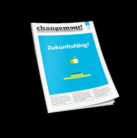 """Magazinartikel: """"Covid-19 und Nachhaltigkeit: die Chance zum Neuanfang"""", Tina Teucher, Artikel im Handelsblatt Changement Magazin, Corona Pandemie"""