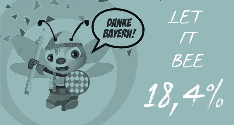Rettet Die Bienen: Ein Volksbegehren, 18,4 Prozent Zuspruch & Viele Widersprüche, Tina Teucher, Biene, Let It Bee, 18,4%, Volksbegehren