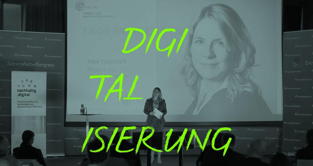 Moderation Nachhaltigkeit: Tina Teucher Moderierte 2020 B.A.U.M. Umwelt- Und Nachhaltigkeitspreis In Hamburg.