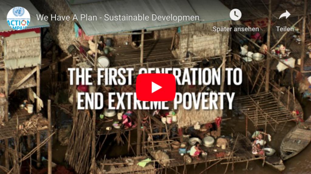 Tina Teucher Act for SDGs Changemakertraining Video Nachhaltige Entwicklung Sustainable Development